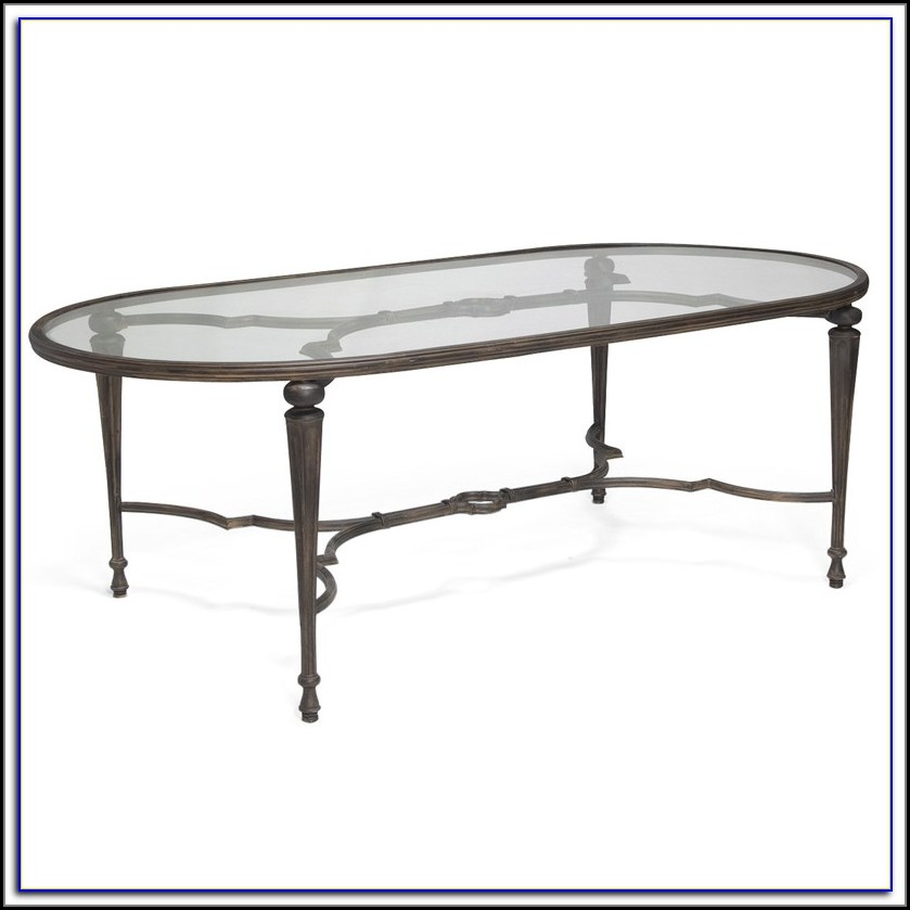 Oval Patio Table Metal