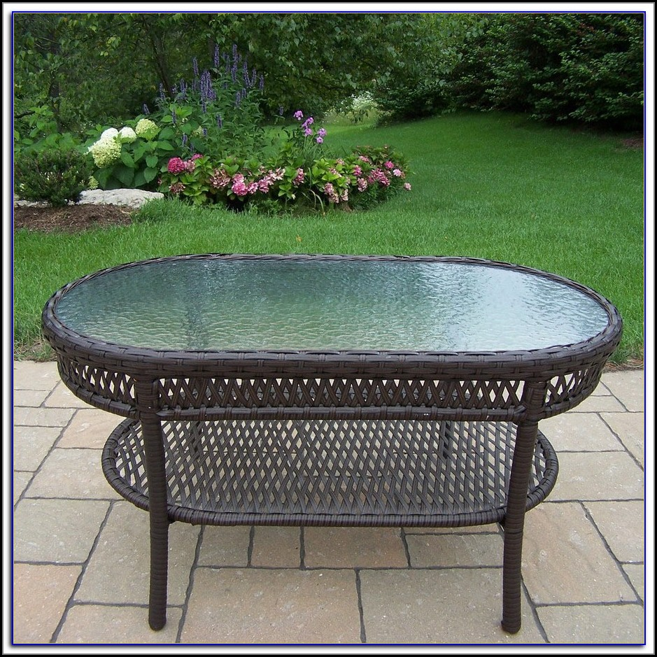 Oval Patio Table Plans