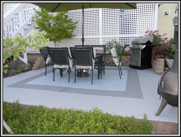 Painting Cement Patio Blocks