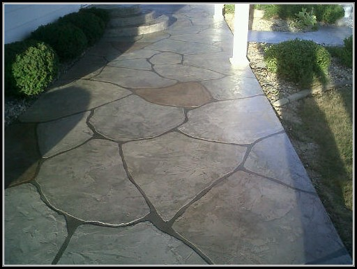 Painting Concrete Patios Designs