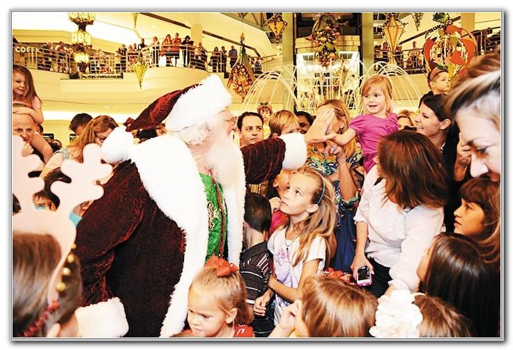 Palm Beach Gardens Mall Santa
