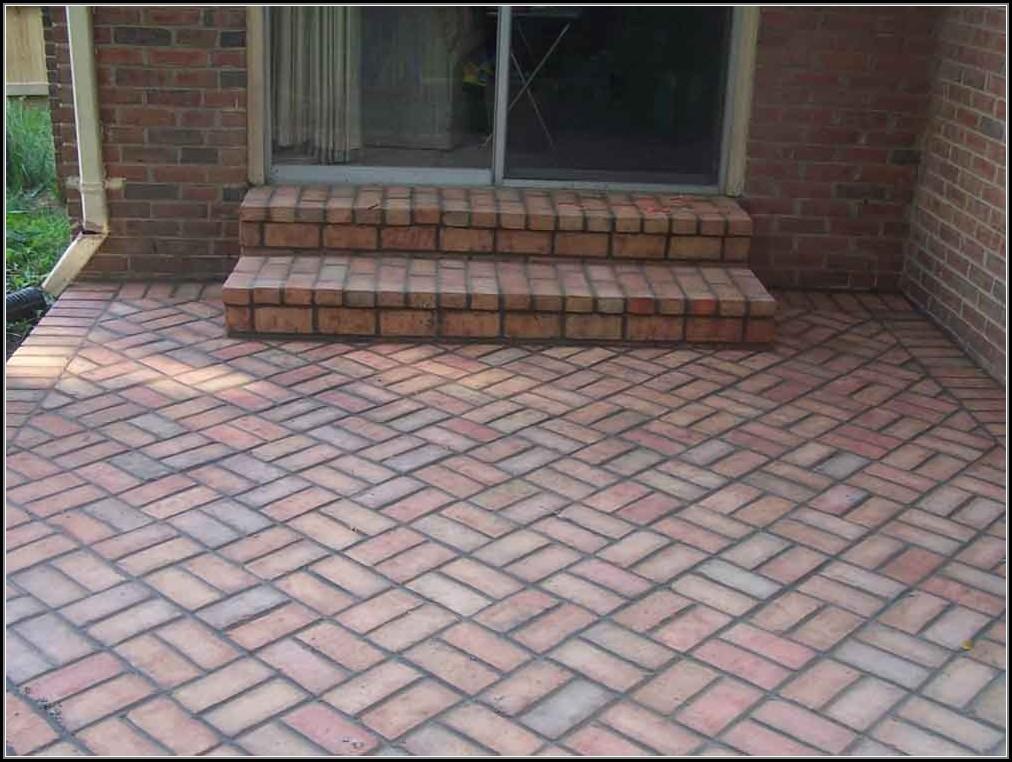 Patio Brick Design Patterns