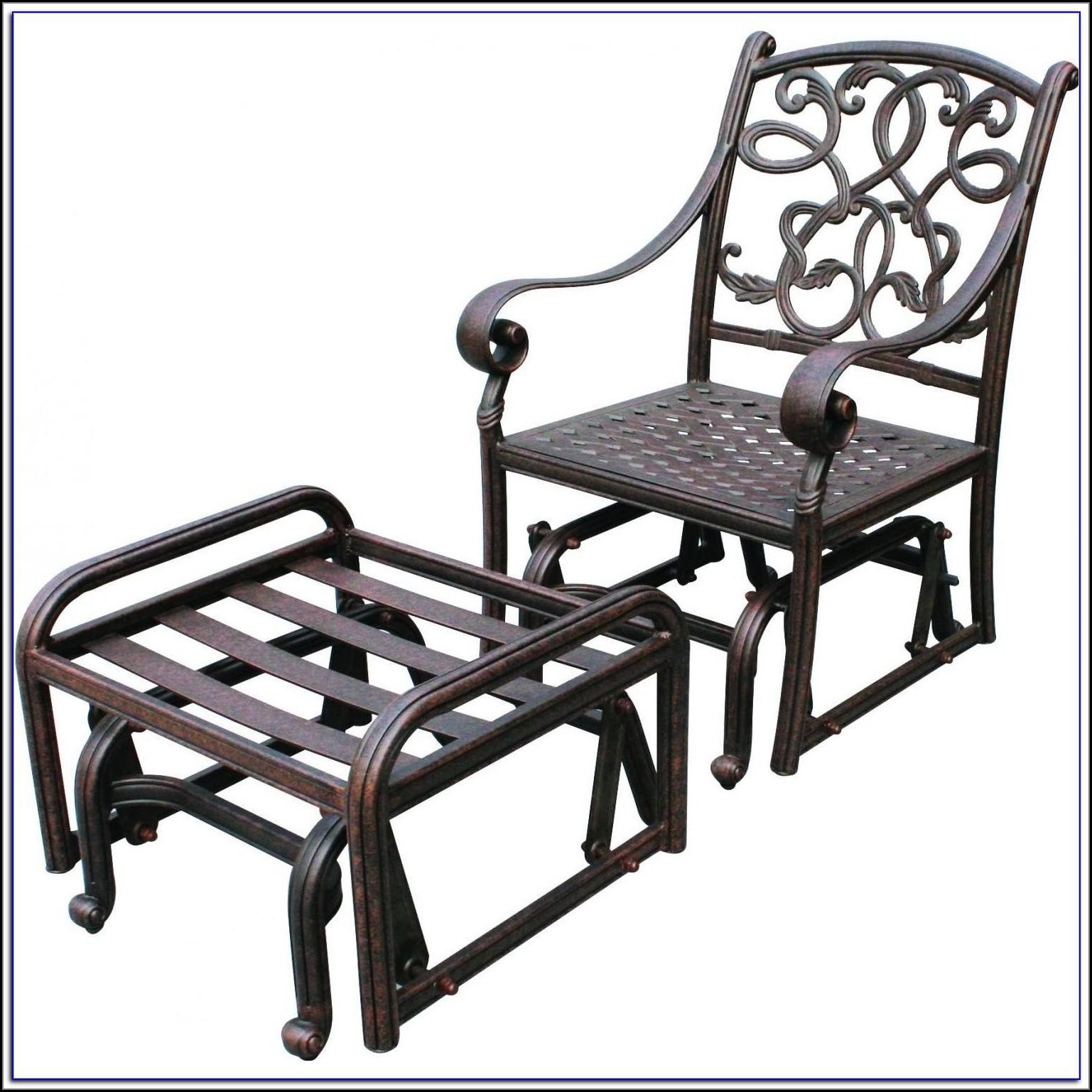 Patio Chair Glides Round