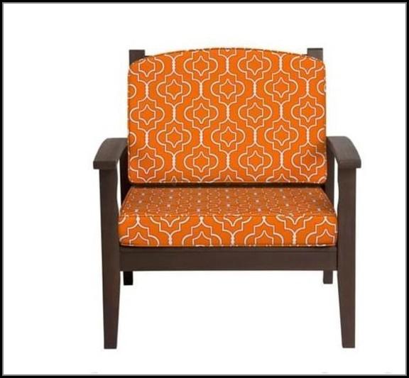 Patio Cushion Set Orange