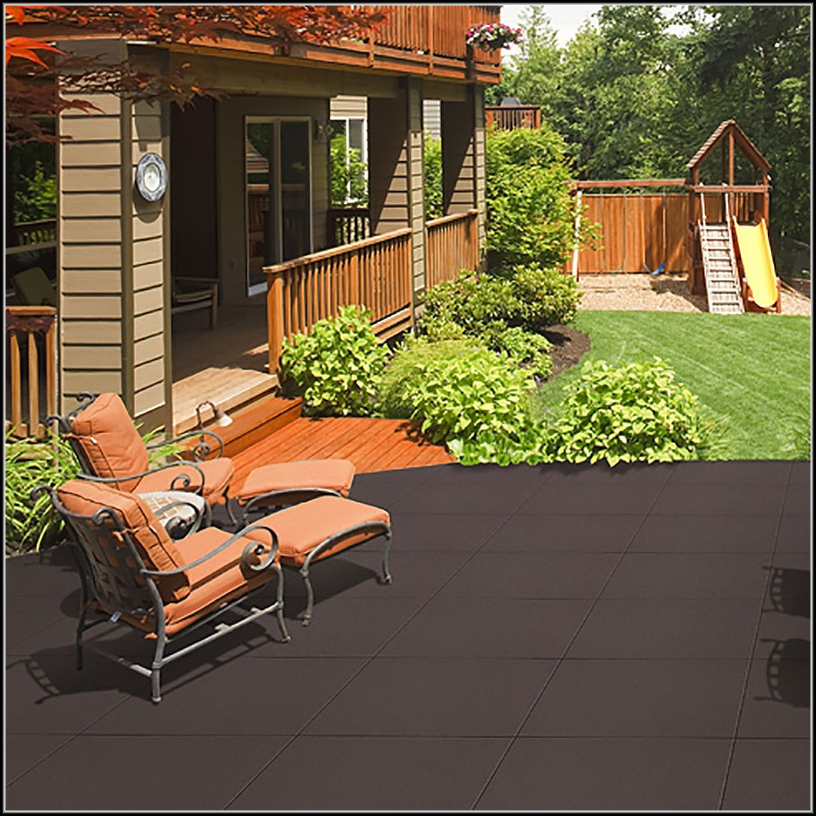 Patio Deck Tiles Rubber