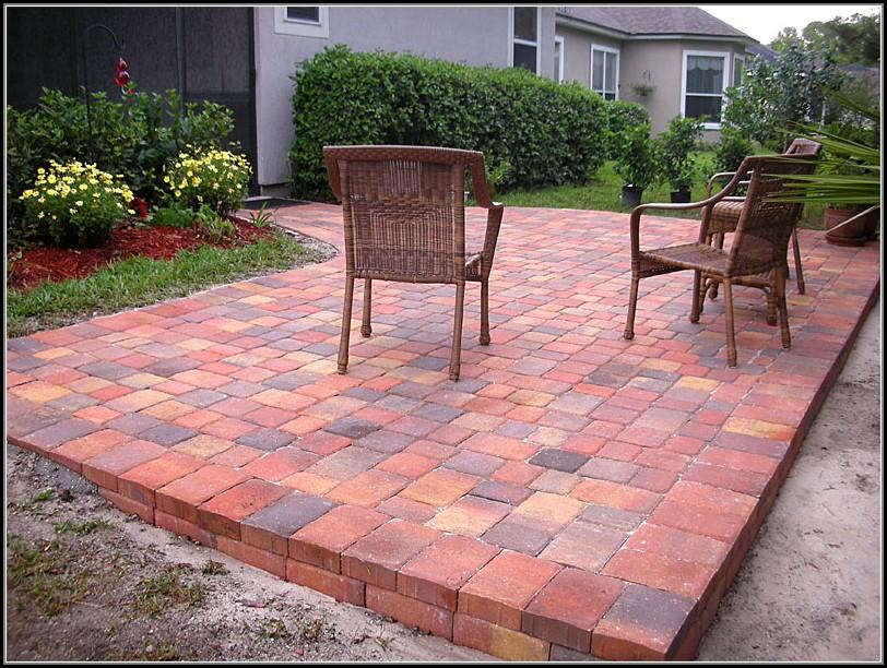 Patio Design With Brick Pavers