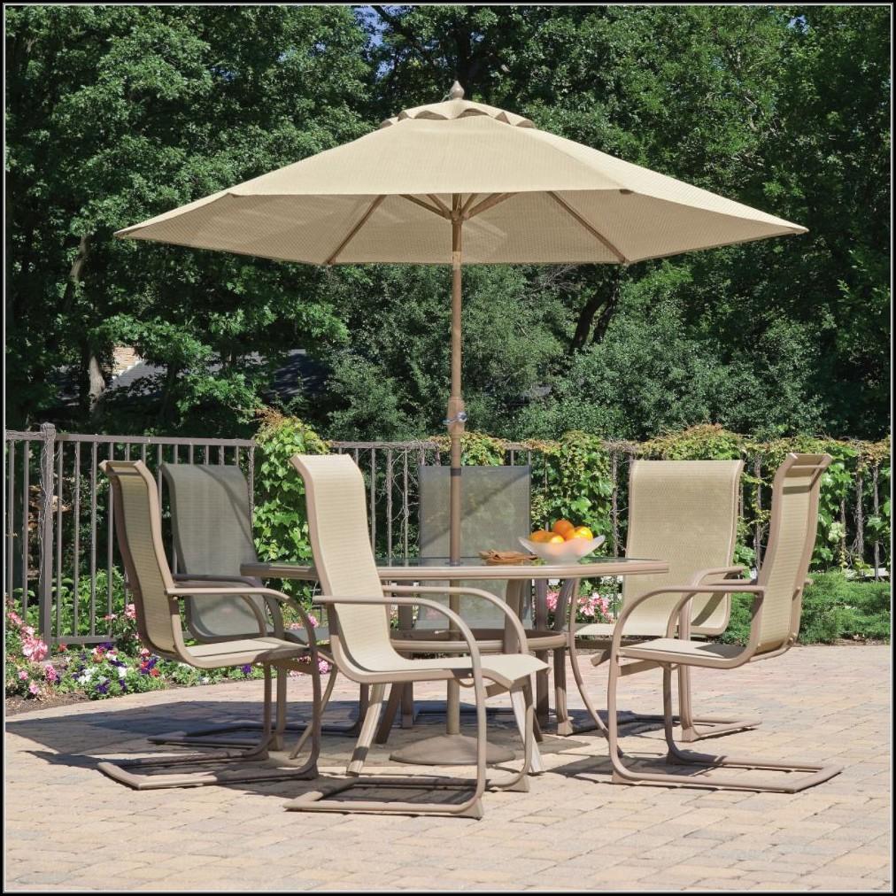 Patio Dining Furniture With Umbrella