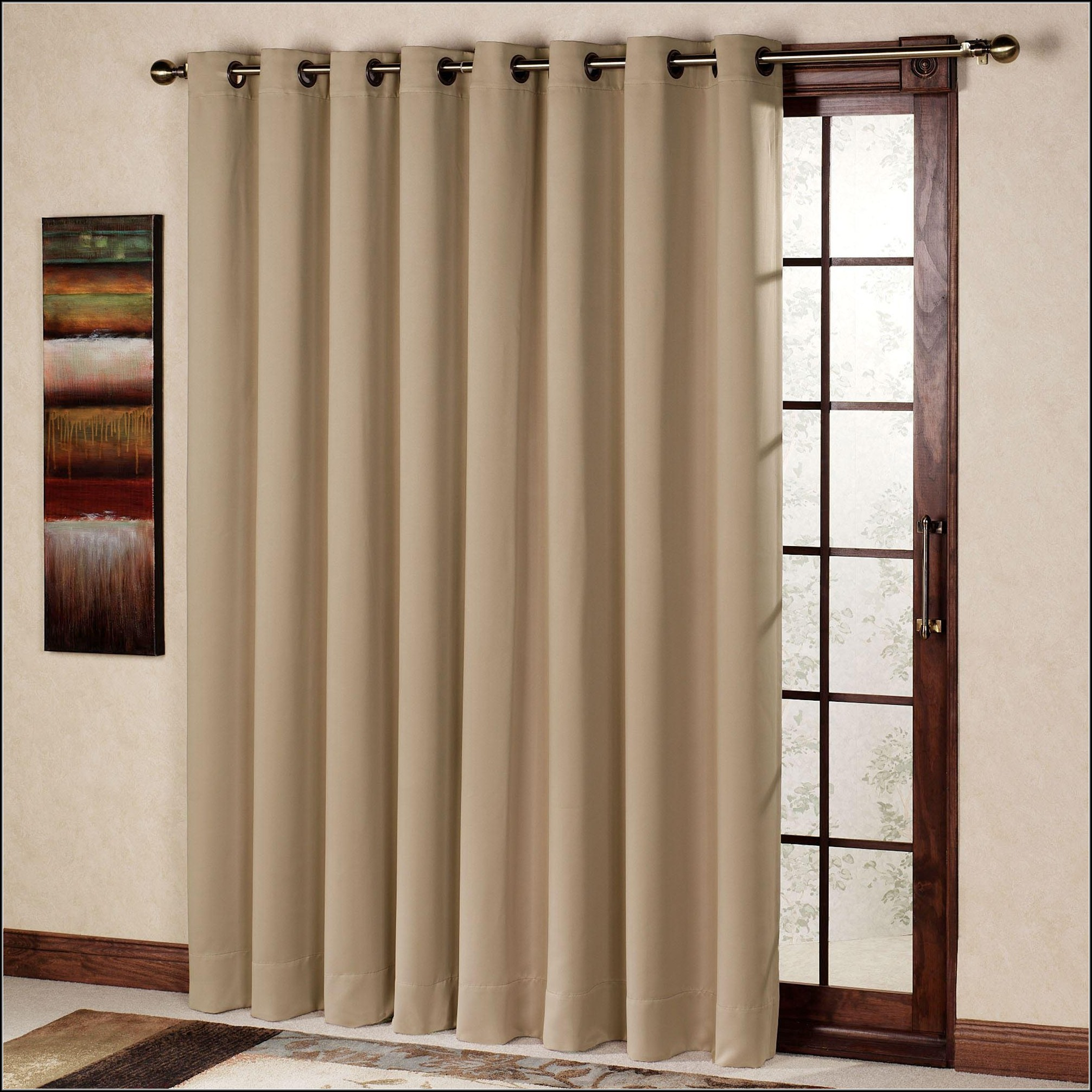 Patio Door Blackout Curtain Panel