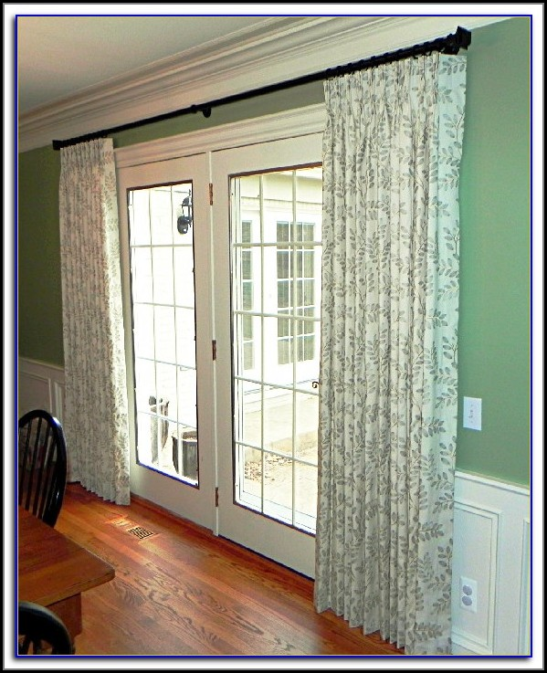 Patio Door Curtain Rod Without Center Support