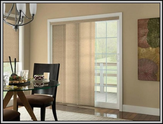 Patio Door Window Treatments Home Depot