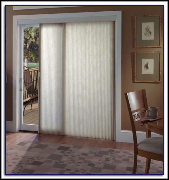 Patio Door Window Treatments Pinterest