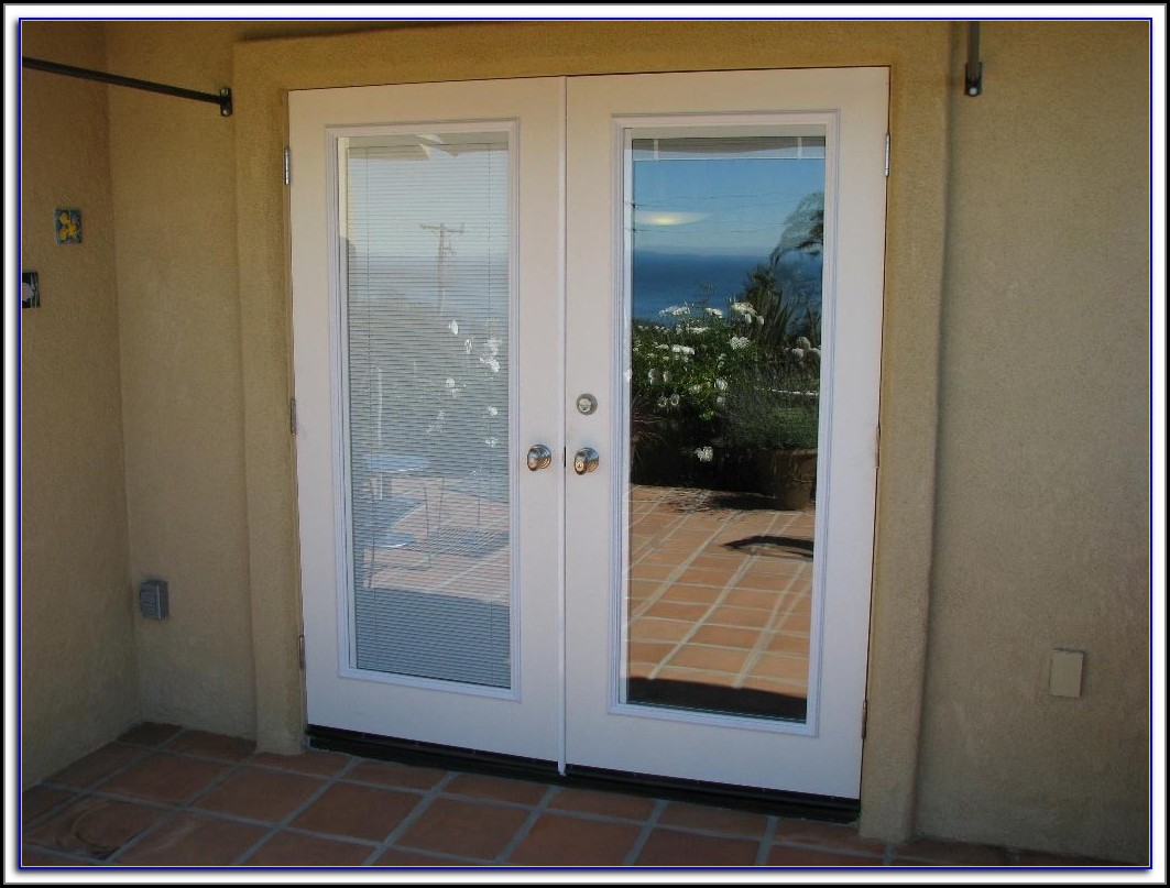 Patio Doors With Mini Blinds Inside
