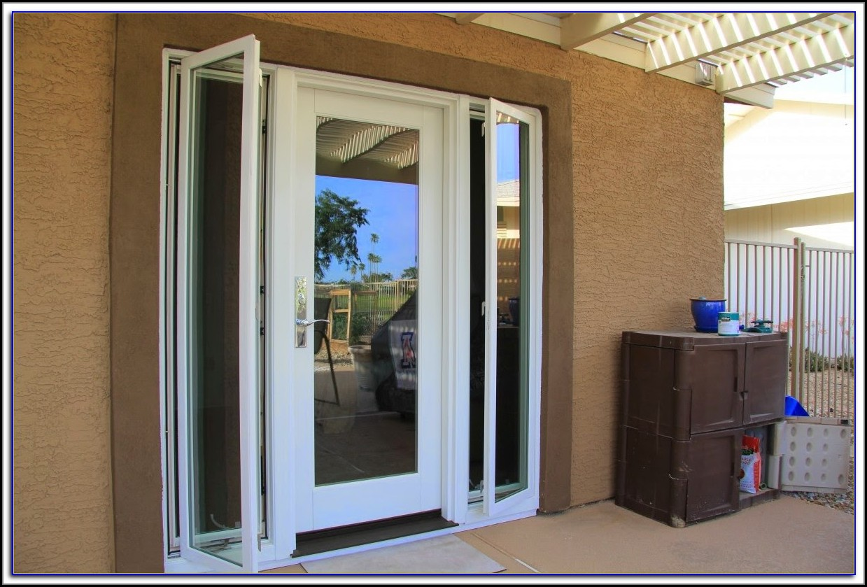 Patio Doors With Sidelights That Open