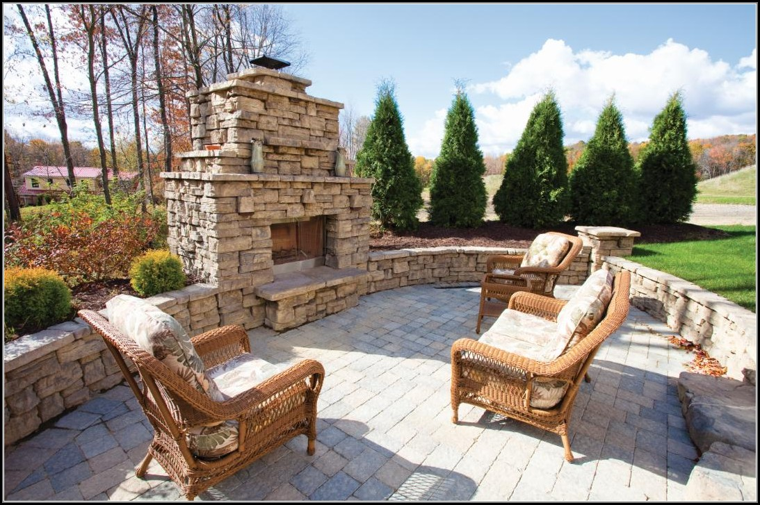 Patio Fireplace Kits Outdoor