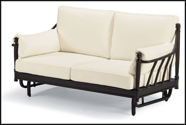 Patio Furniture Loveseat Glider