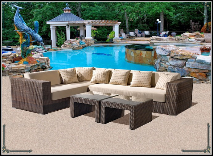 Patio Furniture Sectional Home Depot