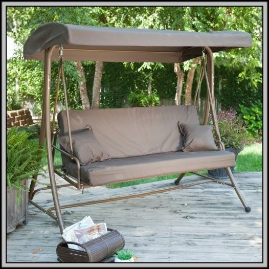 Patio Furniture Swing With Canopy
