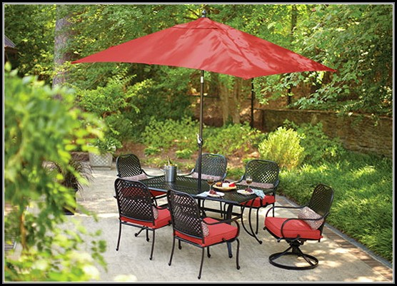 Patio Furniture With Umbrella Home Depot