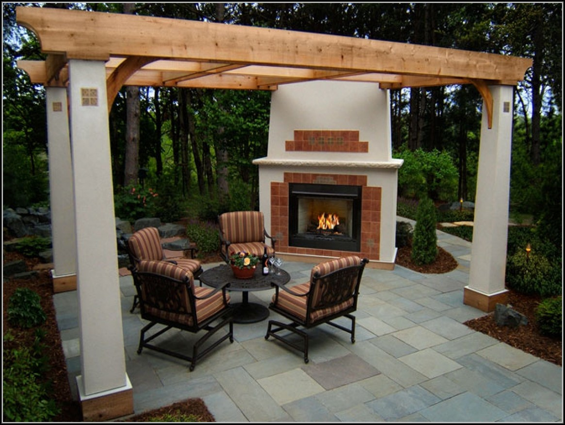Patio Gas Fireplace Kits