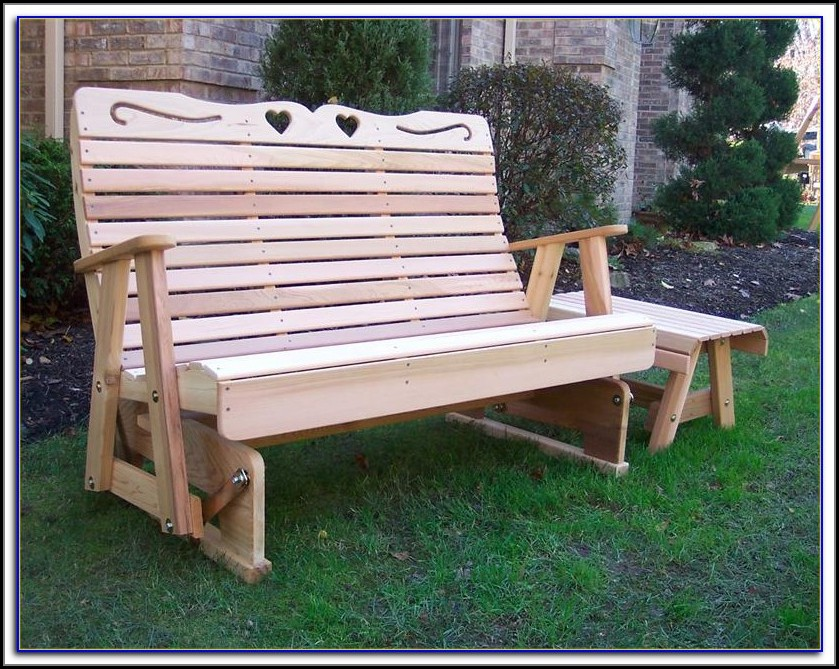 Patio Glider Bench Canada