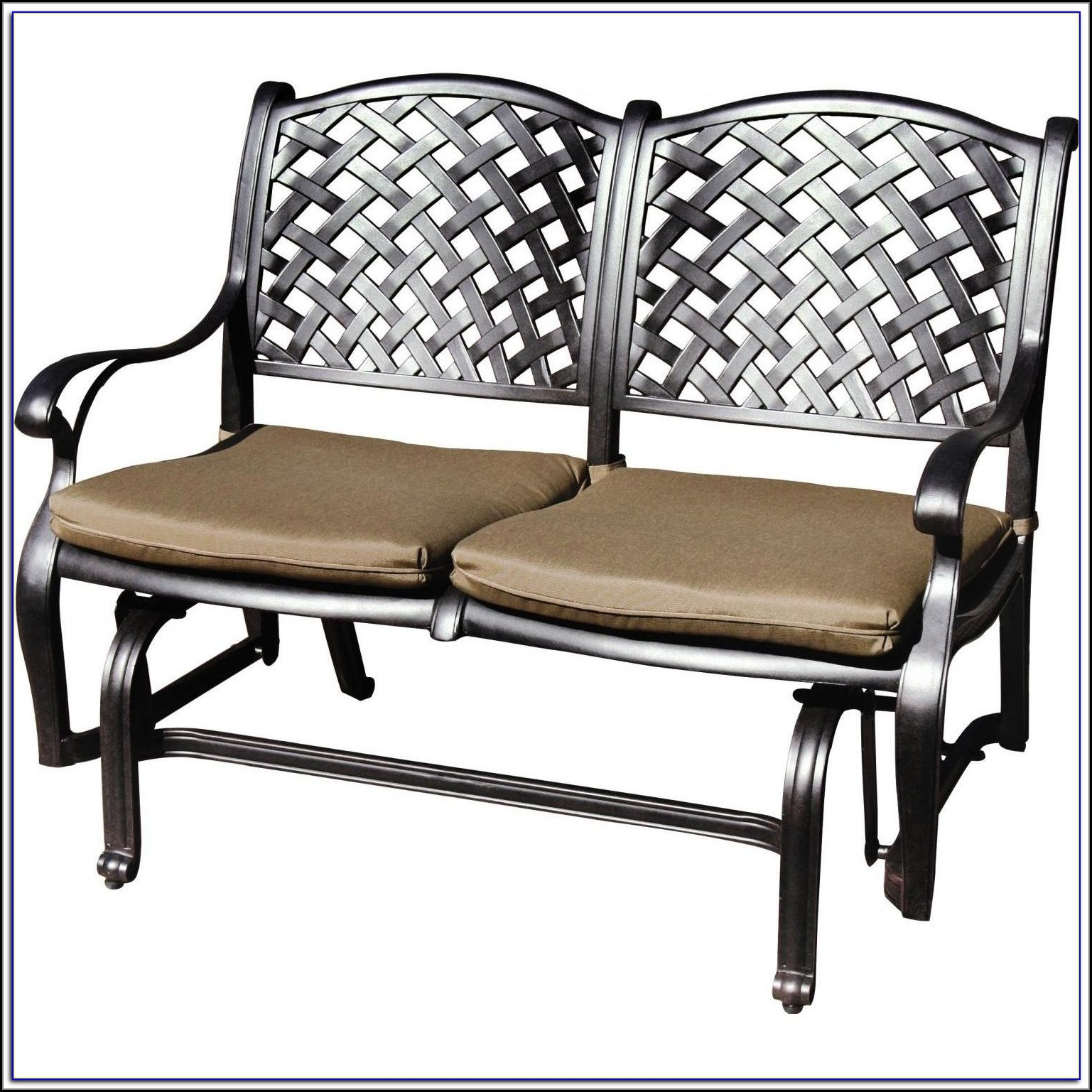 Patio Glider Bench Cushions