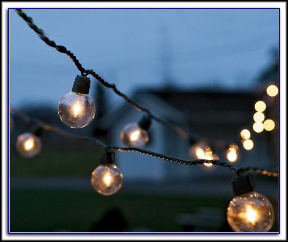 Patio Globe Lights Canada