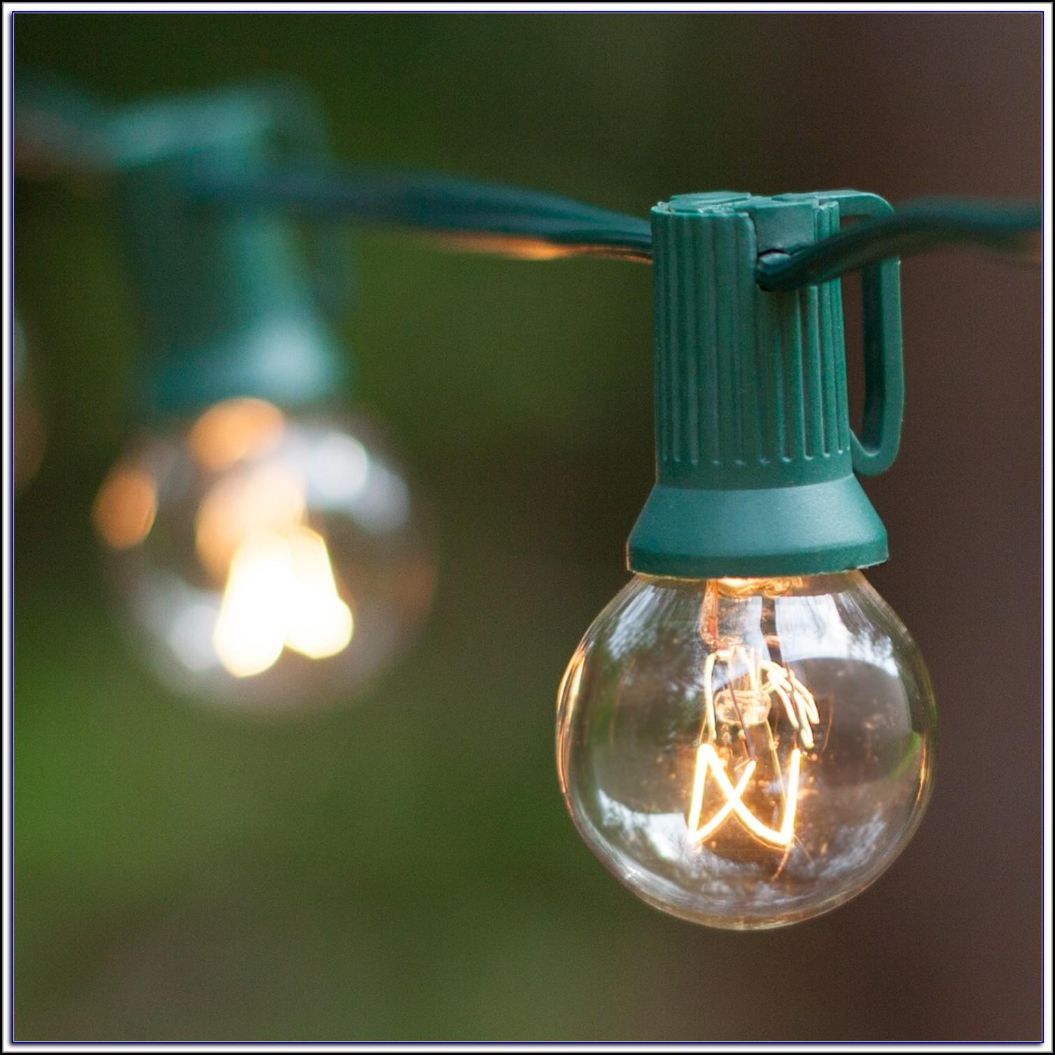 Patio Globe Lights Uk