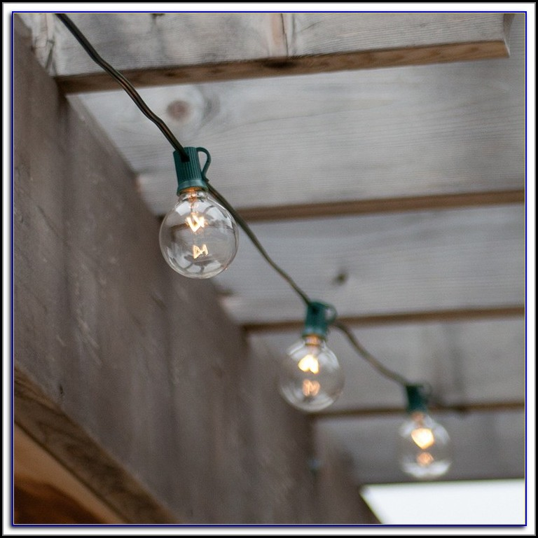 Patio Globe String Lights Australia