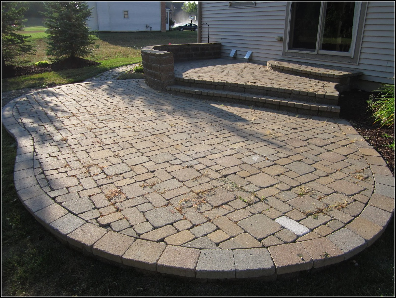 Patio Ideas Using Pavers