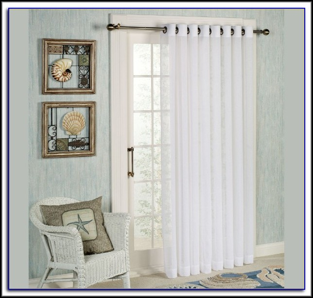Patio Panel Curtain Rod