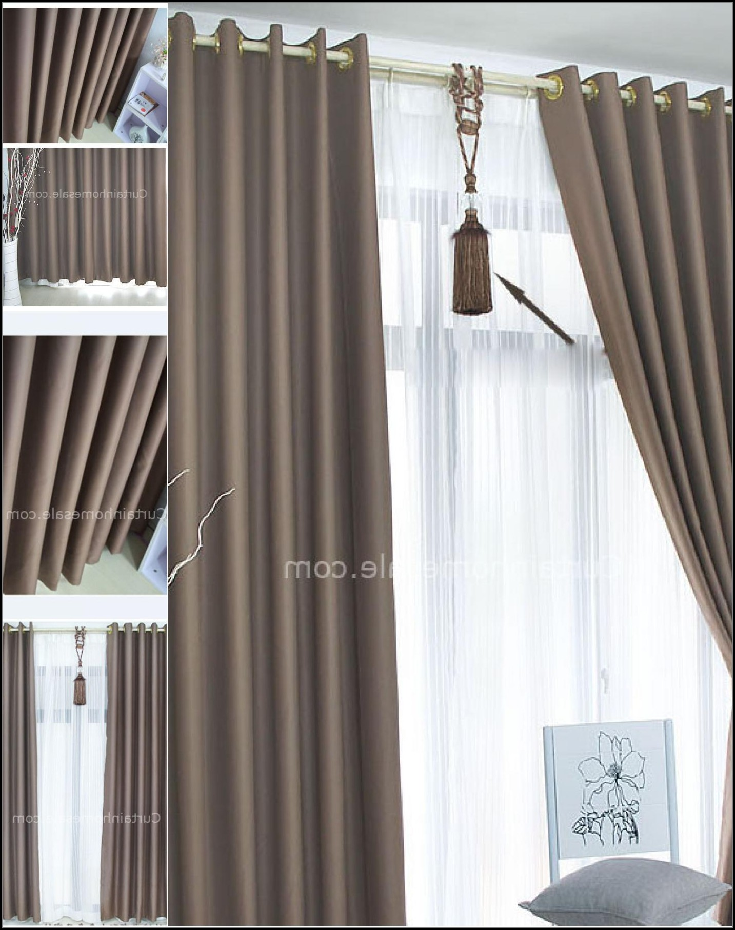Patio Panel Curtains Thermal