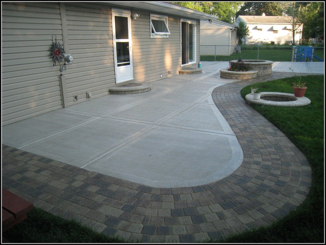 Patio Paver Pattern Ideas