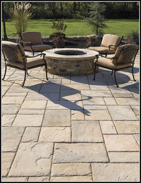 Patio Plans With Pavers