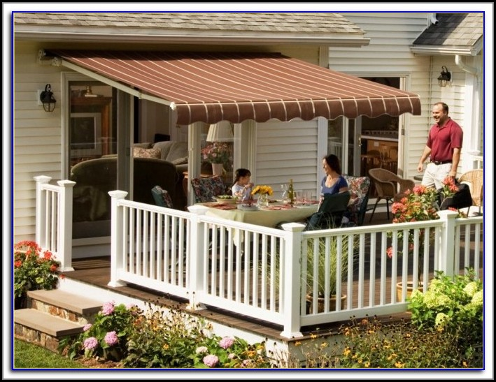 Patio Retractable Awnings Canopies