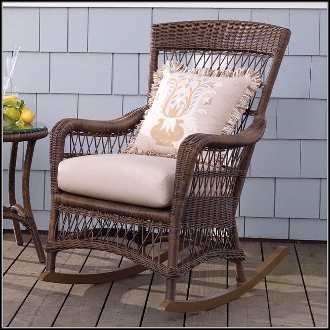 Patio Rocking Chair Cushions
