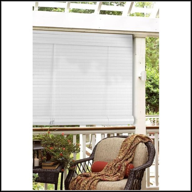 Patio Roll Up Blinds Shades