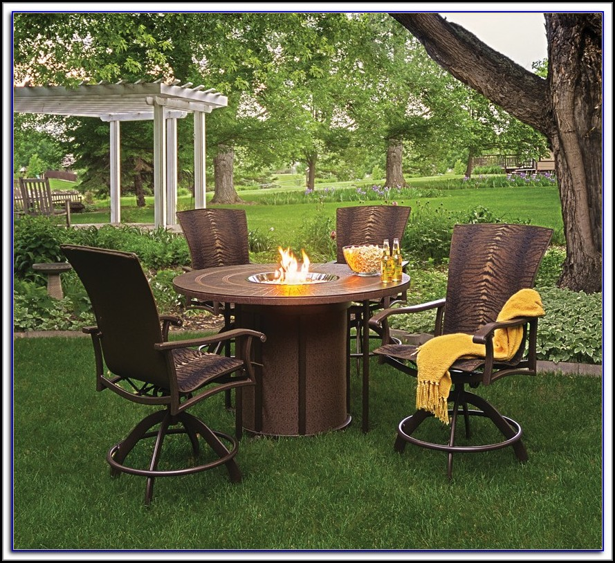 Patio Sets With Fire Pit Table Uk