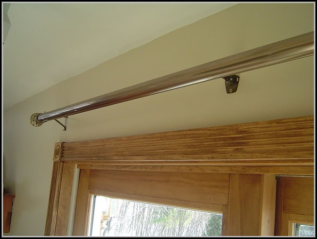 Patio Sliding Door Curtain Rod