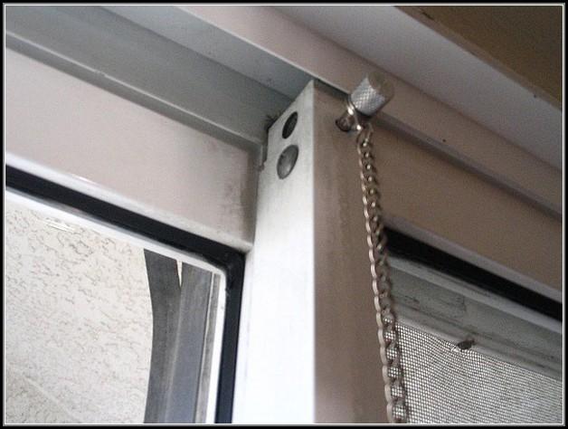 Patio Sliding Door Lock Mechanism