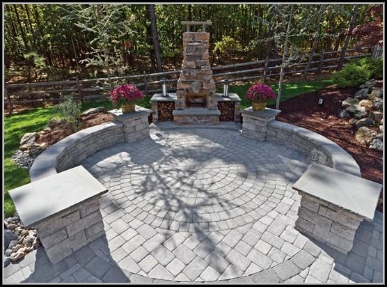 Patio Stone Pavers Design