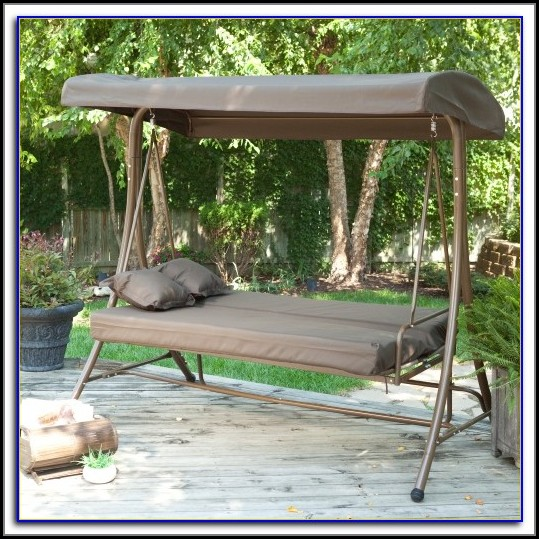 Patio Swings With Canopy And Cup Holders
