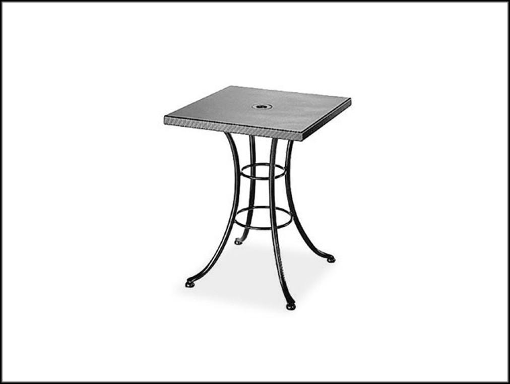 Patio Table With Umbrella Hole
