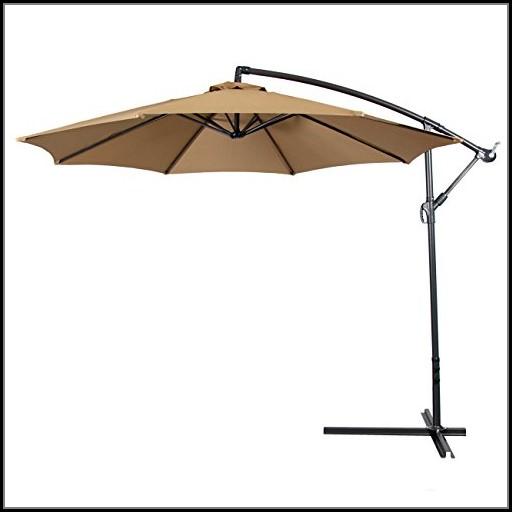 Patio Umbrella Offset 10 Hanging