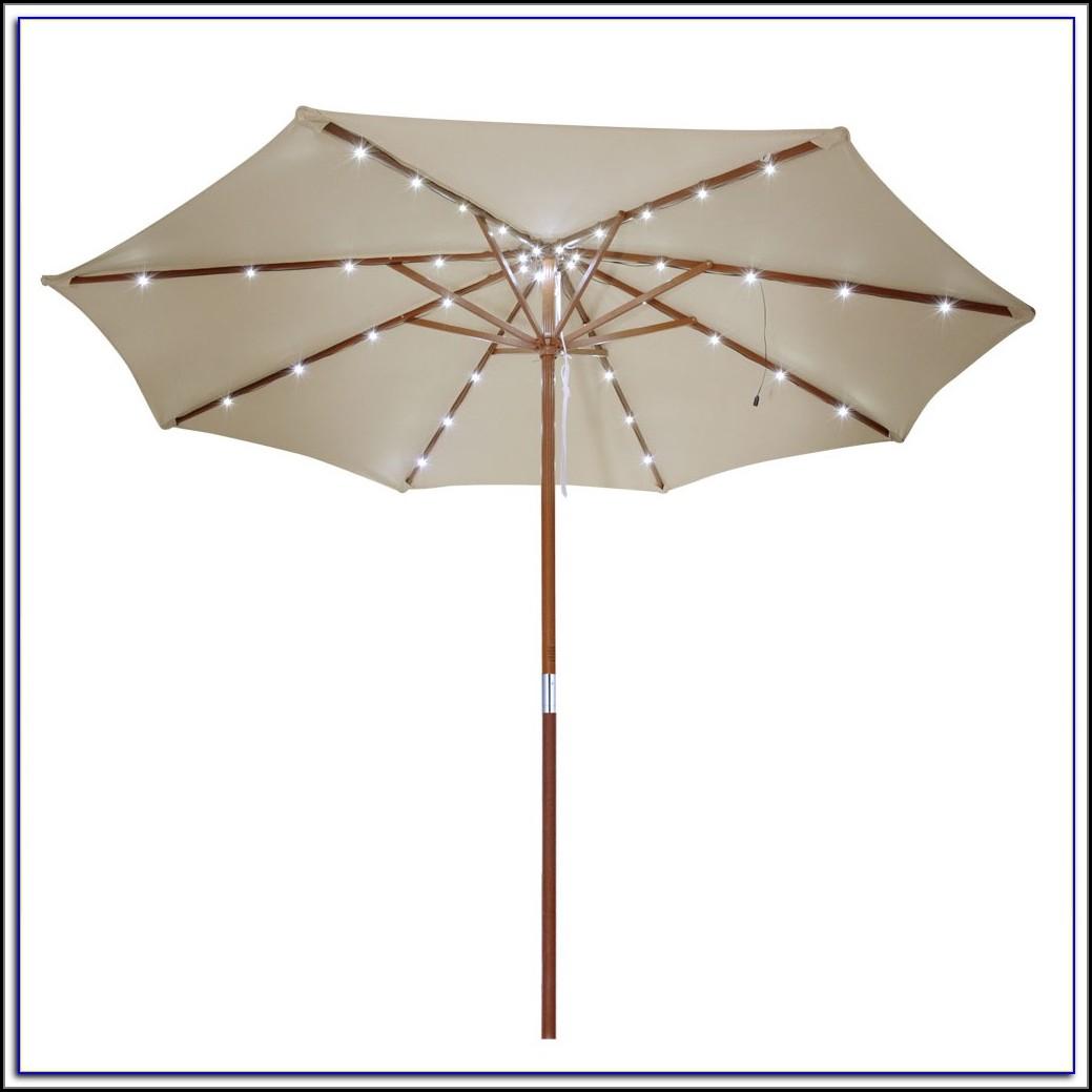 Patio Umbrella Solar Light Kit