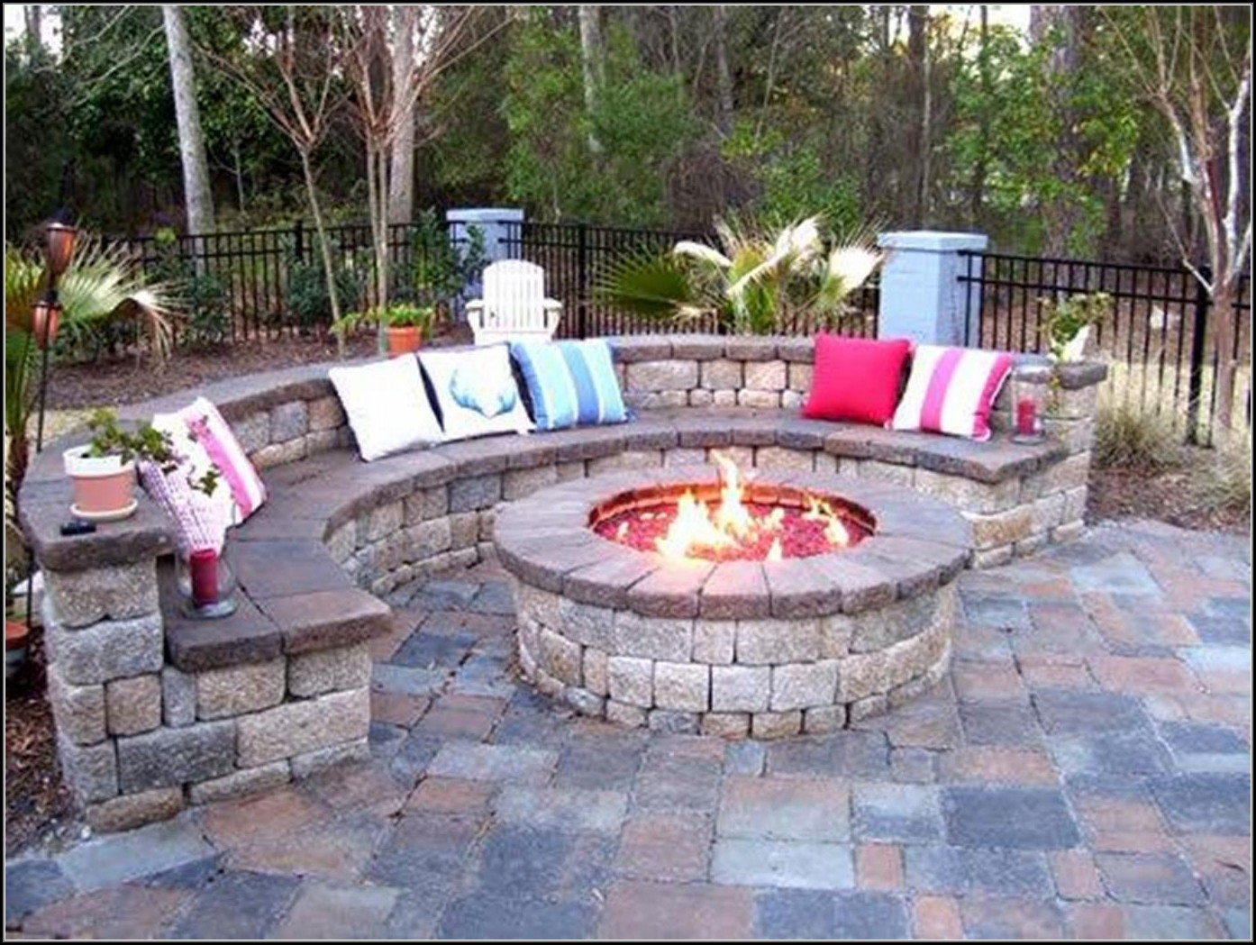 Patios With Fire Pits