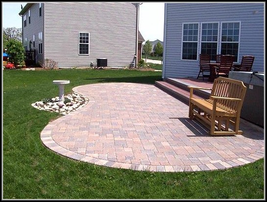 Paver Patio Designs Pictures