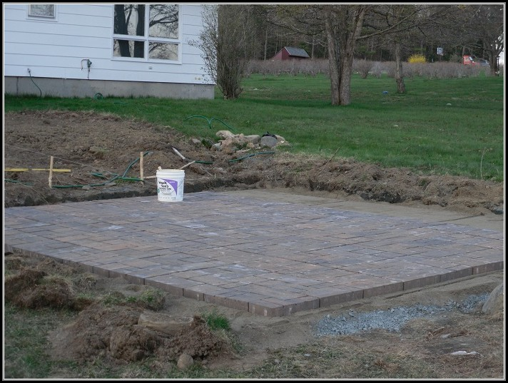 Paver Patio Installation Diy