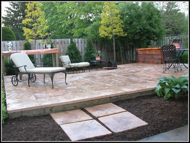 Paver Stone Patio Diy