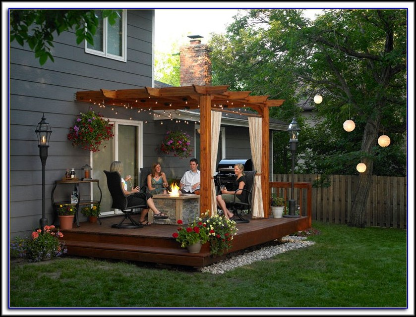 Pergola Ideas For Small Patios