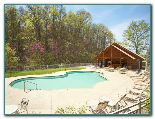 Pigeon Forge Cabins With Pool Access